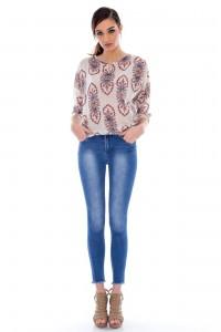High waist skinny jeans Aimelia - TR130
