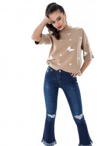 Vintage style jeans by Aimelia-TR217