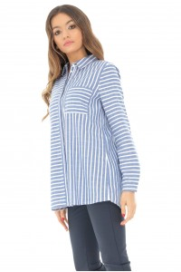 Blue loose fitting shirt Aimelia - BR2089