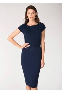 Navy bodycon dress-Aimelia- DR3073