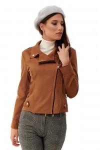 Short beige jacket, Aimelia - JR476