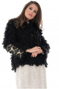 Jacheta eleganta, neagra, ROH - JR492