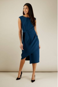 Closet Teal sleeveless dress - AIMELIA- DR3933
