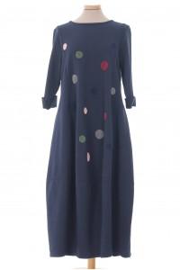 Oversized midi dress, Navy, Aimelia - DR4341