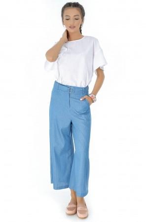 Pantaloni albastri, ROH, largi - TR263