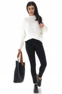 Casual Cream jumper - Aimelia - BR2376