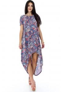 Casual paisley print tunic - Aimelia- DR3469