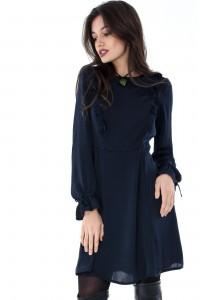 Navy midi dress-Aimelia-DR3238