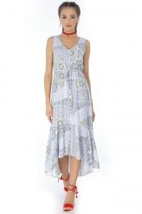 Cream midi dress Aimelia - DR3430