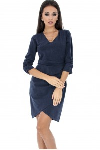 Dress With Ruffled Sleeves - DR3160