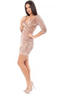 Sparkling glitter dress - Aimelia - DR2697
