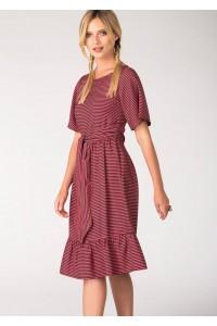 Closet London Striped  Dress - DR3078