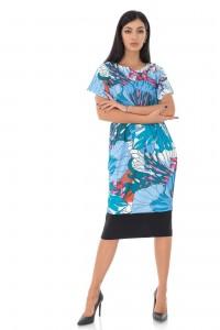 Kimono Style midi dress - AIMELIA