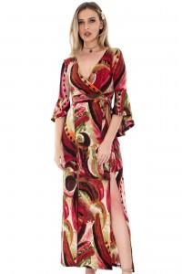 Multicolor maxi dress Aimelia - DR3389