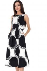 Black retro dress Aimelia - DR3418