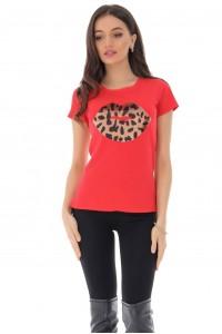 """Sequin lip"" T-shirt, Aimelia - BR2272"
