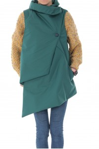 Chic asymetric waistcoat, Aimelia - JR488
