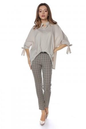 Beige and white shirt Aimelia - BR2049