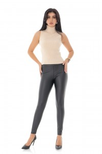 Ladies comfort Leggins - AIMELIA - Black, TR418