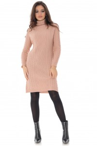 Cable knit midi dress, Aimelia - DR4058