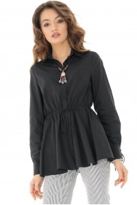 Black long sleeves shirt Aimelia - BR2062