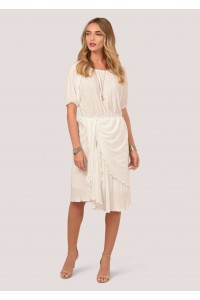 Cream delicate dress Aimelia - DR3701
