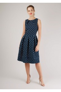 Navy midi dress  Aimelia - DR3884