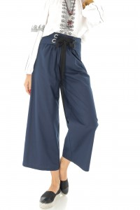Navy high waist trousers Aimelia - TR307