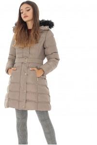 Beige puffa jacket, Aimelia - JR458