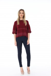 BR1796 - Wine Pullover- cropped - Aimelia