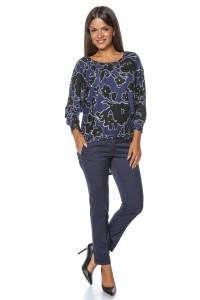 BR1885 - Printed Pullover  Top Mov  - Aimelia
