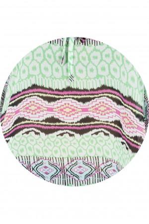 Summer Kaftan in printed chiffon - Aimelia - BR793