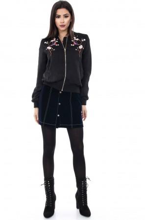 Black short jacket, Aimelia - JR237