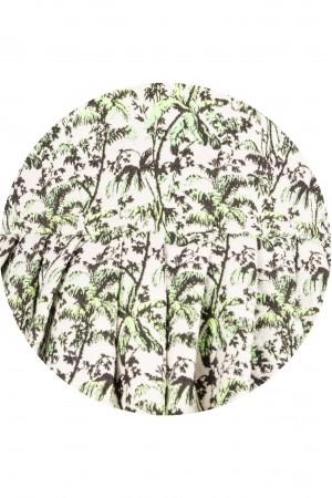Woven printed cotton jacquard dress - Aimelia - DR2279